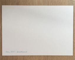 Postkarte 'Kitz' - Rückseite