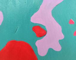 Bild 'Pop-Art-Kuh rot' - Detailansicht 1