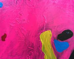 Bild 'Pop-Art-Kuh schwarz' - Detailansicht 1