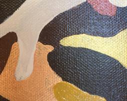 Bild 'Hirsch Camouflage Gold/Braun' - Detailansicht 5