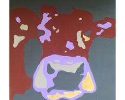 Bild 'Pop-Art-Kuh VI'