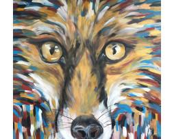 Bild 'Fuchs in Federboa'