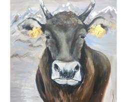 Bild 'Idylle mit Kuh'